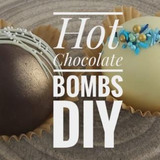Hot chocolate bombs DIY