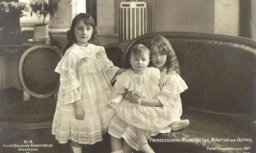 Princesses-Martha-Margaretha-and-Astrid-of-Sweden